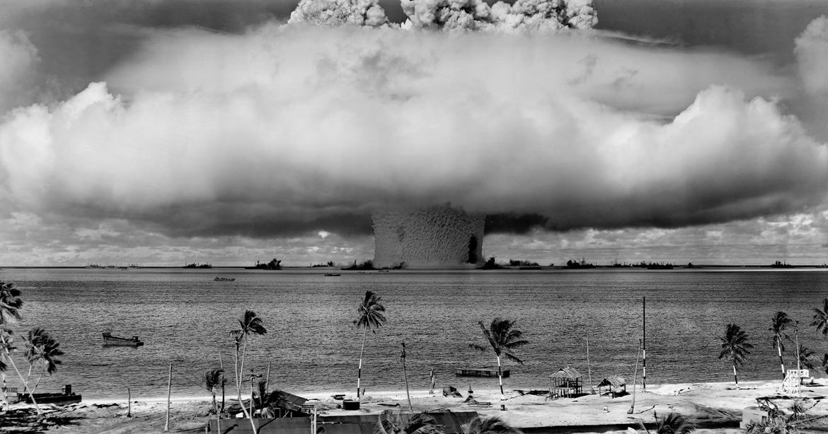 Bikini Atoll Destruction